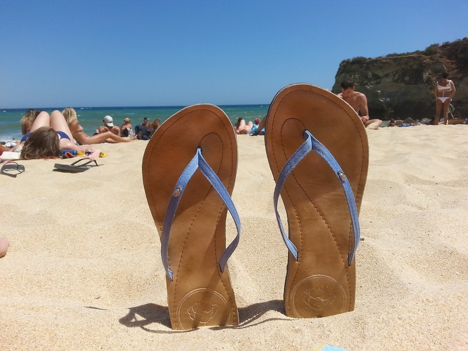 la plage de Portugal