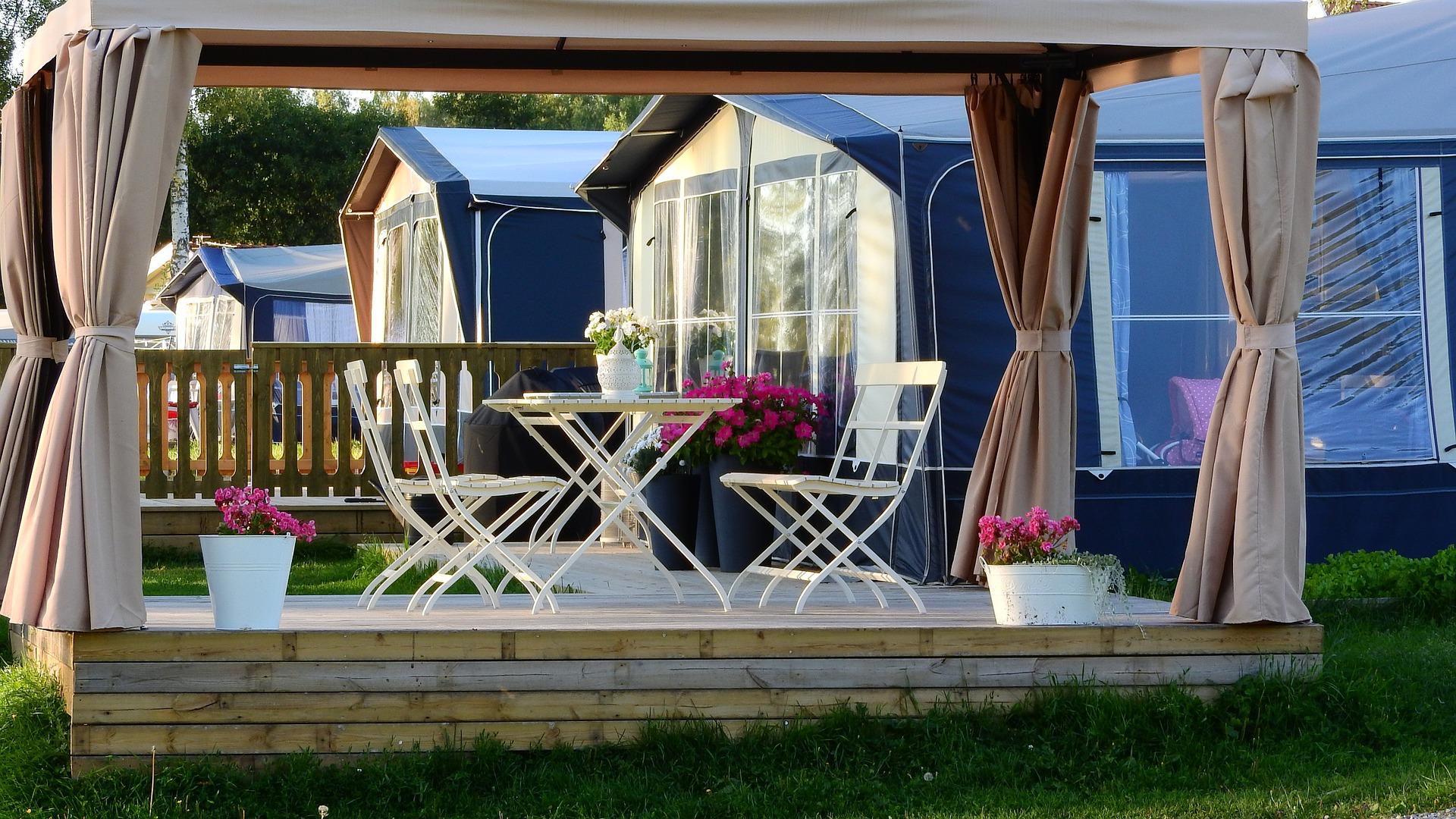 camping en mobil home