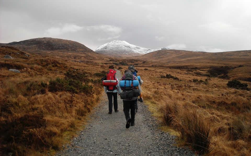 voyage étranger randonnées montagne