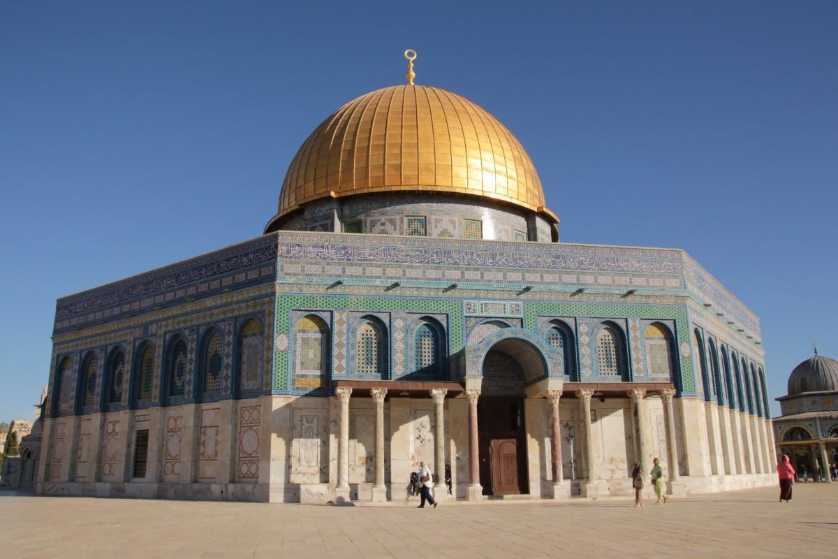 Le grand edifice de Jérusalem
