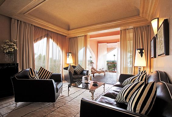 séjour dans un palace à Marrakech